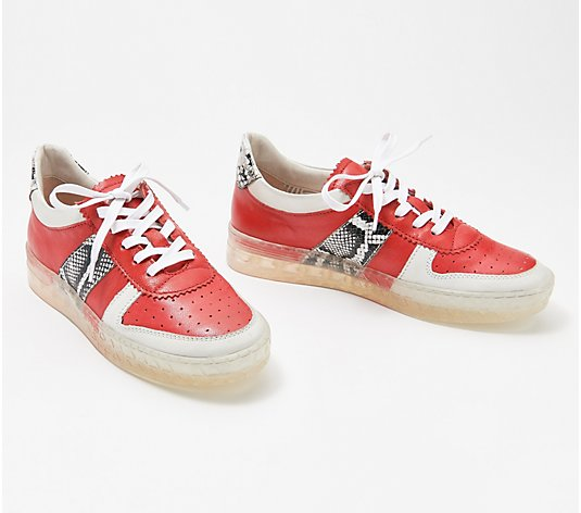 Miz Mooz Leather Sneakers - Flip