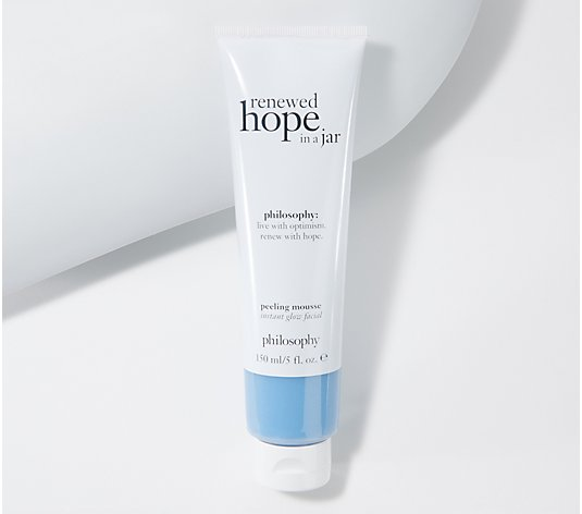 philosophy super-size renewed hope peeling mousse instant facial