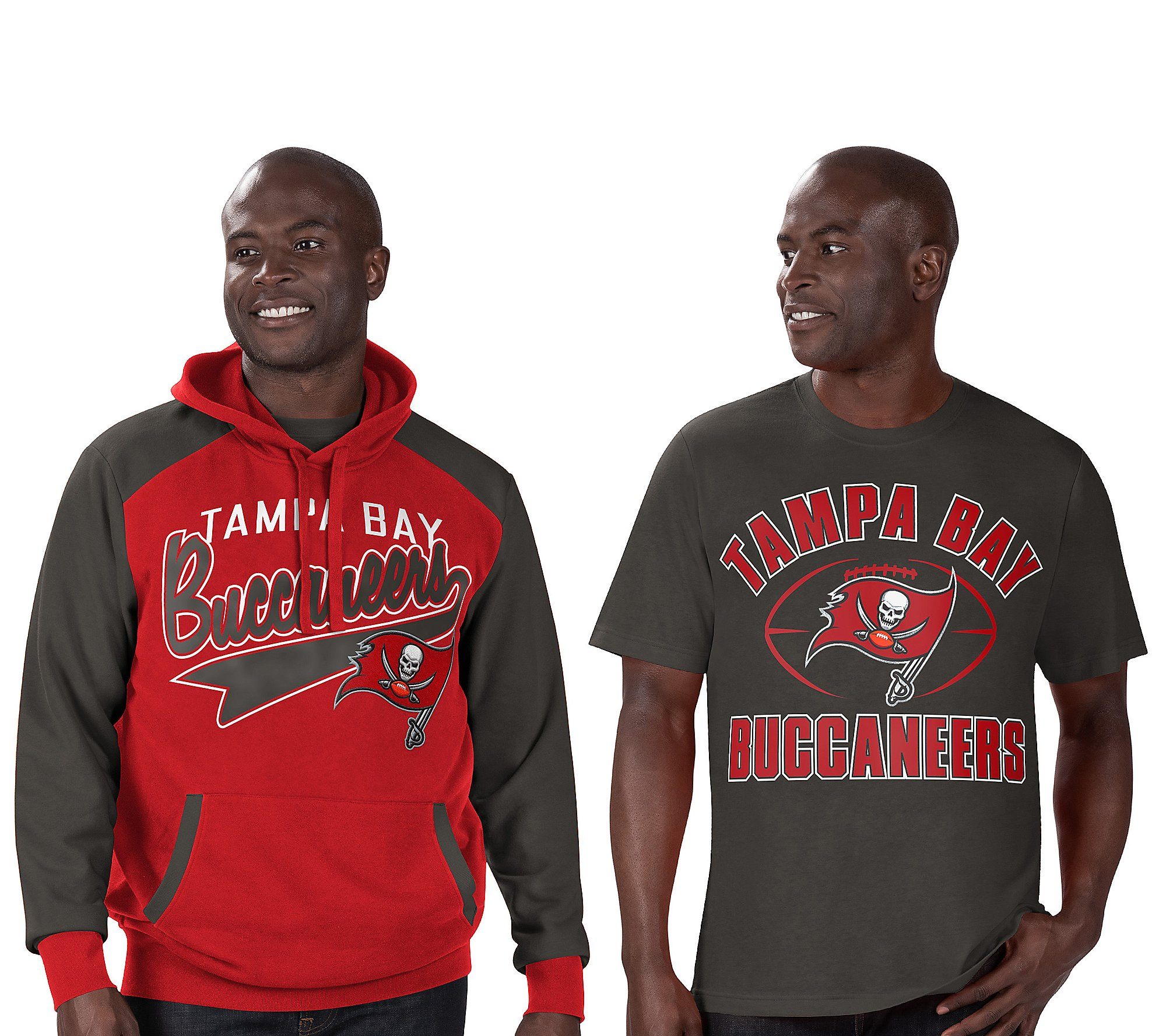 NFL Team Pullover Hoodie and T-Shirt - QVC.com