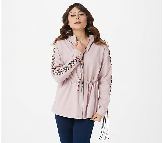 Peace Love World Braided Sleeve The Mandala Jacket