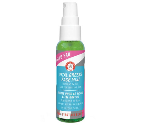 First Aid Beauty Hello FAB Vital Greens Face Mist
