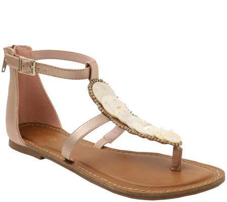 Kensie Thong Sandals - Rossey