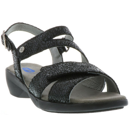 Wolky Leather Sandals - Fria