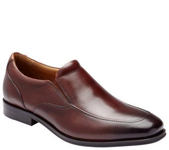Vionic Men s Leather Slip-on Dress Shoes - Spruce Sullivan - A423308 79647b3bc5
