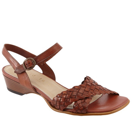 David Tate Woven Sandals - Calabria