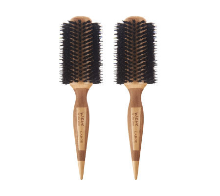 WEN by Chaz Dean Signature Boar Bristle Large Round Brush Duo