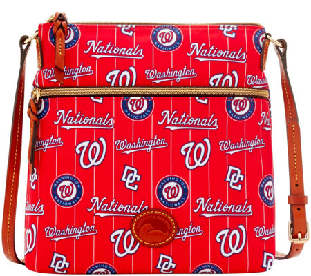 Dooney & Bourke MLB Nylon Nationals Crossbody