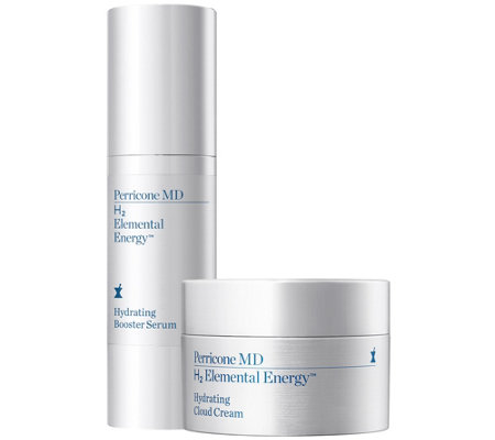 Perricone MD H2 Elemental Energy Booster Serum & Cloud Cream