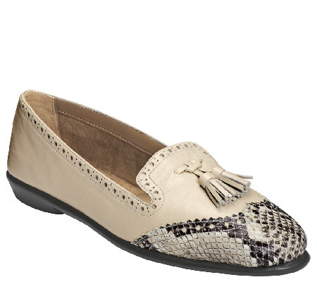 Aerosoles Oxford Slip-Ons - Winning Bet