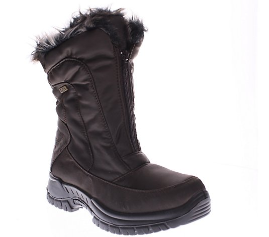 Spring Step Nylon Winter Boots - Zigzag