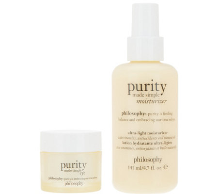 philosophy purity made simple eye gel & moisturizer Auto-Delivery