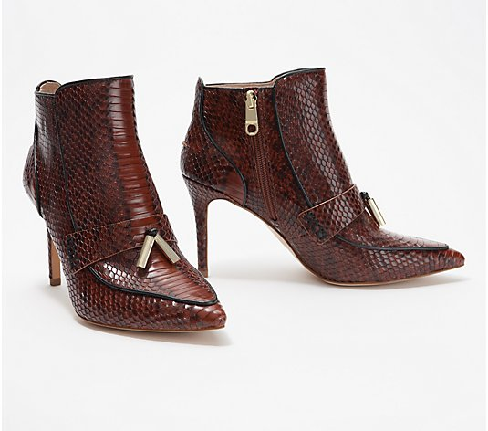 Louise et Cie Ankle Boots with Tassel - Shiro
