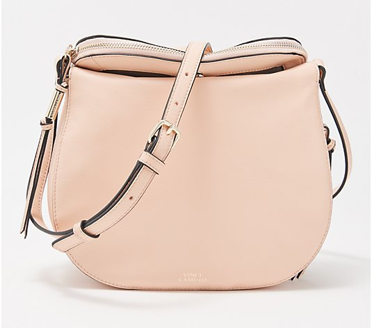 Vince Camuto Large Leather Crossbody - Kenzy