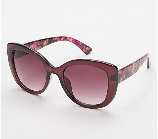 Isaac Mizrahi Live! Rounded Eye Sunglasses