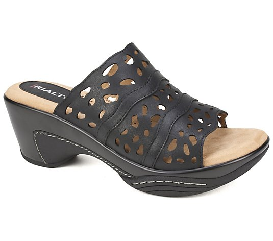 Rialto by White Mountain Open-Toe Slip-On Sandals - Vispa