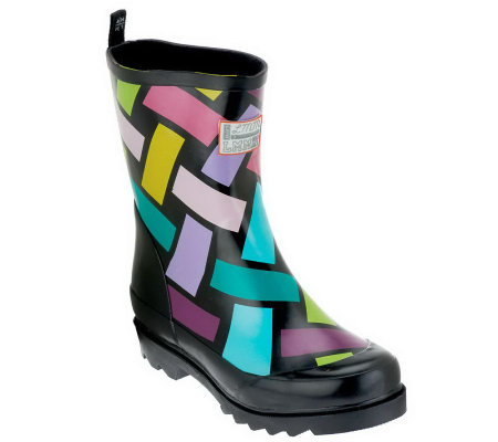 little missmatched Crazy Coordinate Wellies