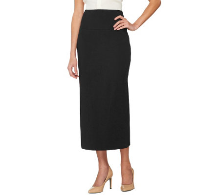 Women with Control Tummy Control Wide Waistband Long Skirt