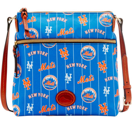 Dooney & Bourke MLB Nylon Mets Crossbody