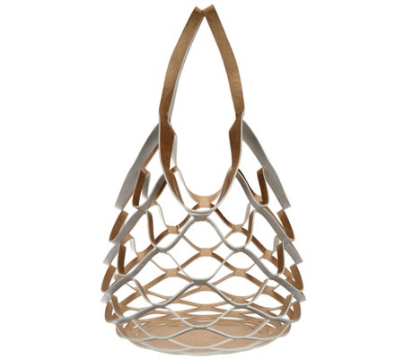 Physician Endorsed Reversible Open Weave Style Tote Bag