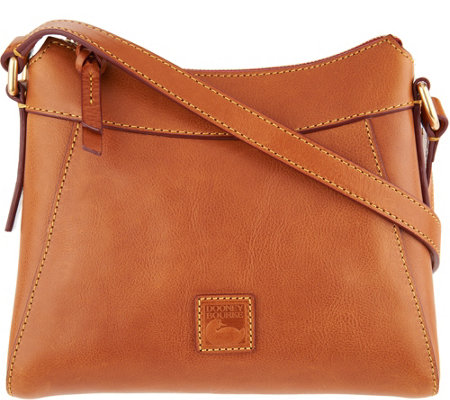 Dooney & Bourke Florentine Leather Small Hobo- Cassidy