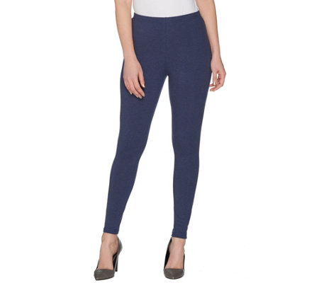 Women with Control Regular Heathered Pull-On Legging
