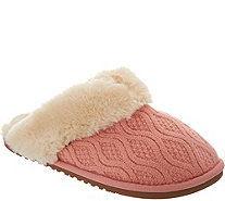Lamo Sweater Knit Scuff Slippers - Caroline - A311510