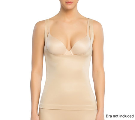 """As Is"" Spanx Power Conceal- Her Open Bust Cami"