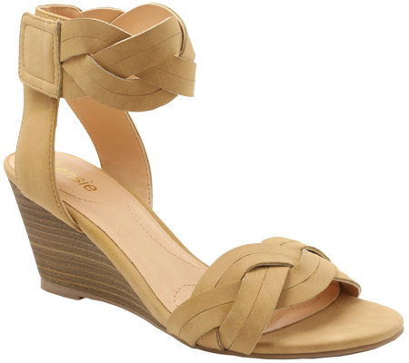 Kensie Wedge Sandals - Sharon
