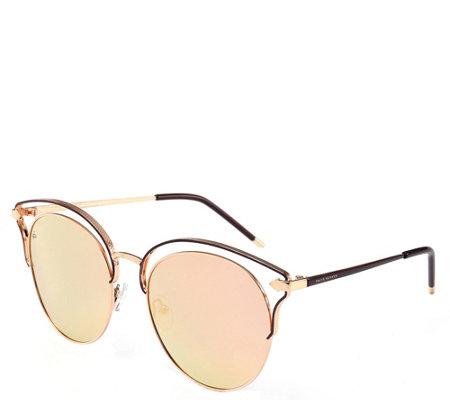 Prive Revaux The Heartbreaker Polarized Sunglasses Black Gol