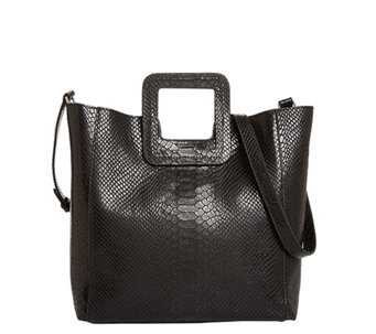 TMRW Studio Python-Print Square-Handle Handbag- Antonio Med - A425210 8c15256db1