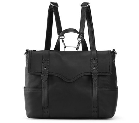 The Sak Heritage Leather Convertible Backpack
