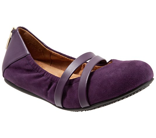 Softwalk Mary Jane Flats - Sierra