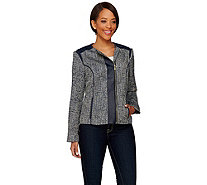 Liz Claiborne New York Heritage Collection Tweed Jacket - A272811