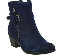 Earth Origins Suede Water Repellent Ankle Boots - Tori - A284011