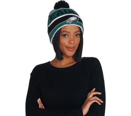 NFL Cuff Knit Hat with Pom by New Era