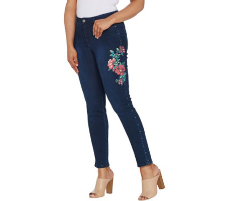 Women with Control My Wonder Denim Petite Novelty Jeans