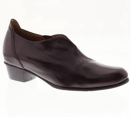 Spring Step Melbourne Leather Slip-on Shoes