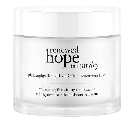 philosophy renewed hope in a jar normal-dry skin moisturizer