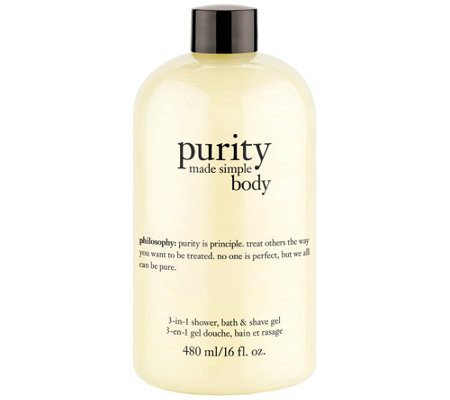 philosophy purity made simple body 3-in-1 gel 16 oz