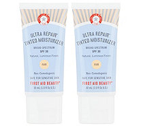 First Aid Beauty Ultra Repair Tinted Moisturizer SPF 30 Duo - A344611