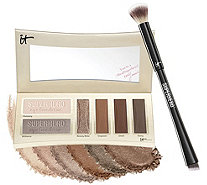IT Cosmetics Superhero by Day Essentials Shadow Palette w/ 4-in-1 Brush - A351411