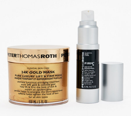 Peter Thomas Roth Firmx 360 Eye Renewal Gold Lift Mask Set
