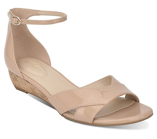 Bandolino Two-Piece Wedge Sandals - Talia