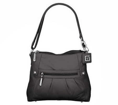 As Is Stone Mountain Leather Shoulde R Amy Bag