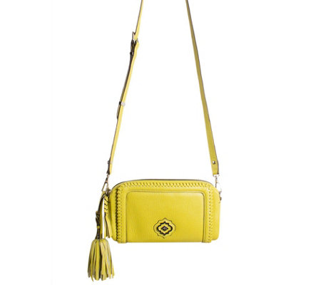 orYANY Italian Leather Crossbody Bag - Aideen