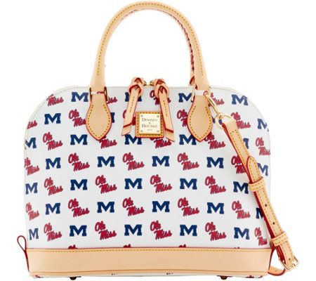 Dooney & Bourke NCAA Ole Miss University Zip Zip Satchel