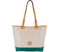 Dooney Bourke Smooth Leather Tote Handbag Lee A308912