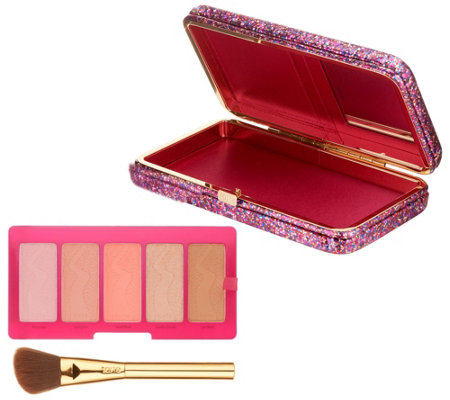 tarte Life of the Party Clay Blush with Brush & Clutch