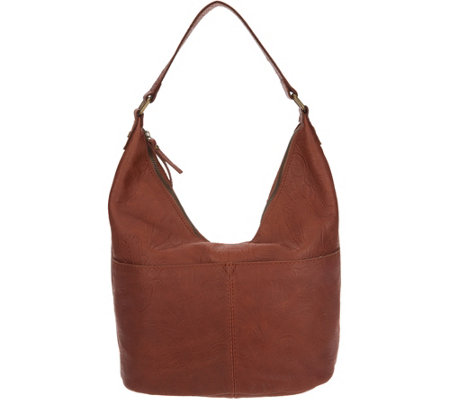 American Leather Co. Glove Leather Hobo Handbag - Carrie