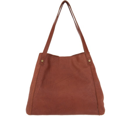 """As Is"" American Leather Co. Glove Leather Shopper-Liberty"